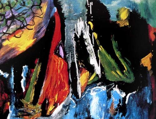 Abraham Gustin creates the drama of contrast | Manhattan Arts