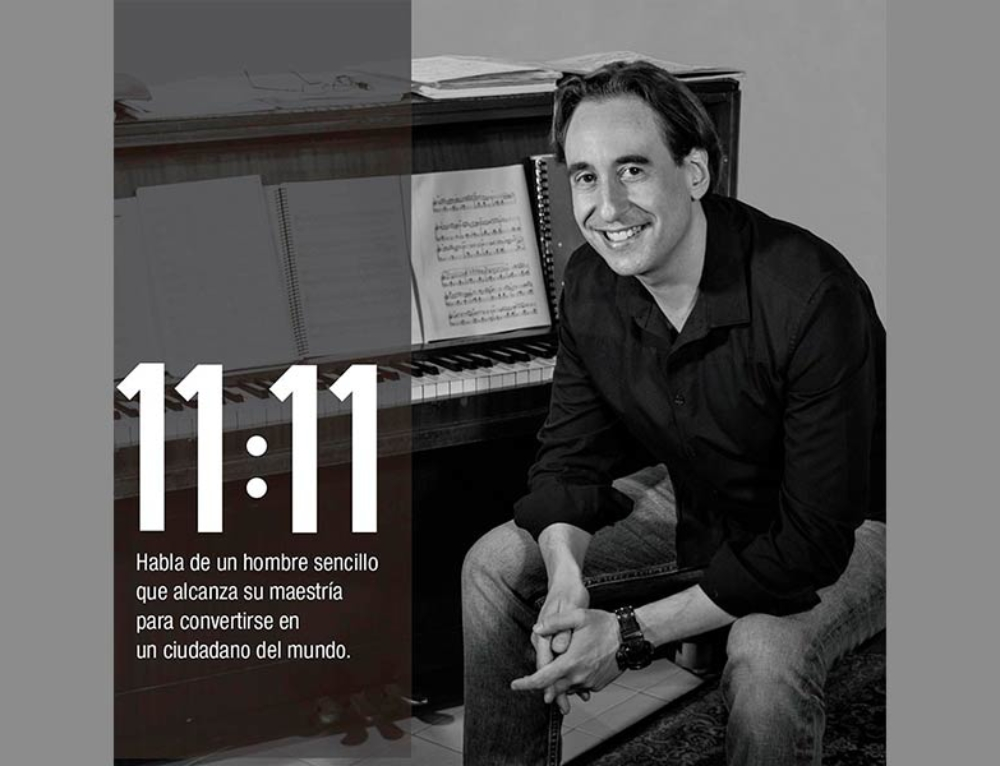 Compositor Venezolano Abraham Gustin publicó su tercer compacto 11:11 Pulso de Vida