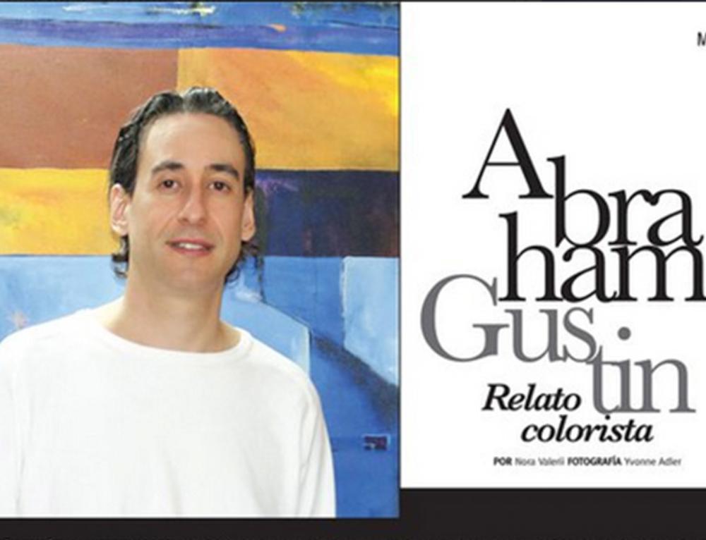 Abraham Gustin Retrato Colorista | CG Latin Magazine | 2011