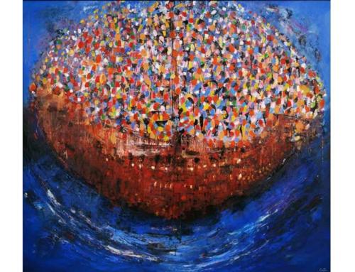 Pleamar | En la Vitrina Arte | Texto de Abraham Gustin