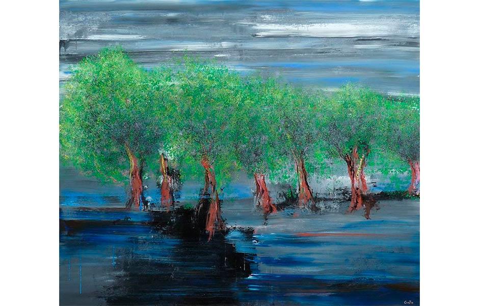 Bosque Encantado de Abraham Gustin