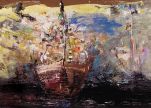 Mar Profundo | Abraham Gustin | Obra s/tela. | Serie de los Barcos