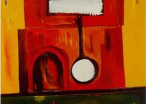 Péndulo | Serie de las Ciudades | Obra de Abraham Gustin.