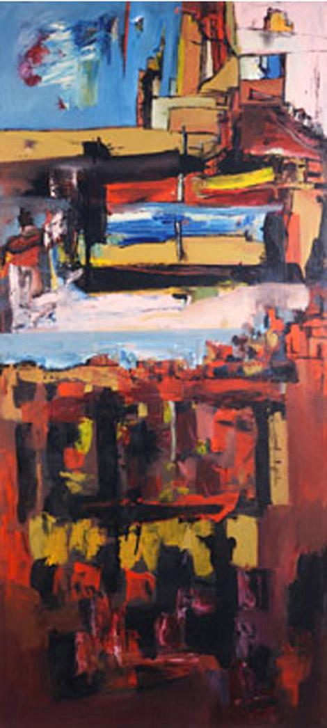 Castillos | Serie de las Ciudades | Obra de Abraham Gustin.