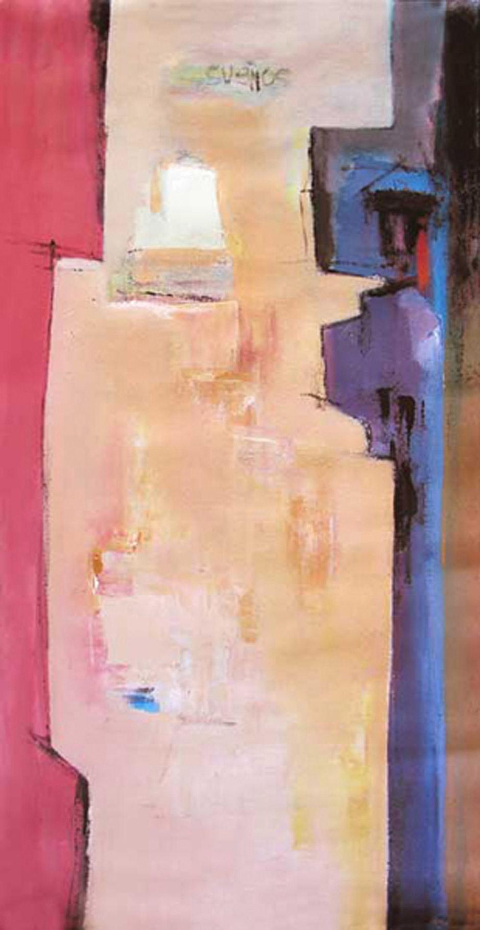Sueños | Serie de las Ciudades | Obra de Abraham Gustin.