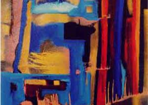 Nocturno | Serie de las Ciudades | Obra de Abraham Gustin.