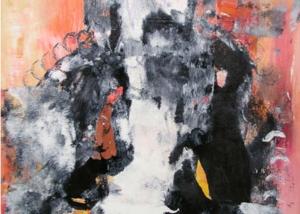 La Dama | Abraham Gustin | Obra s/tela.