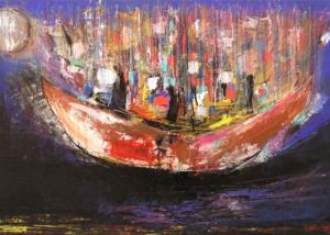 Antiguos Navegantes | Serie de los Barcos | Abraham Gustin