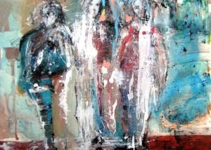 Triunvirato | Abraham Gustin | Obra s/tela.