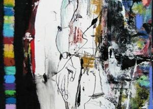Serie del Caminante | Abraham Gustin | Obra s/tela.