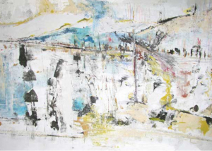 Ávila | Serie de las Ciudades | Obra de Abraham Gustin.
