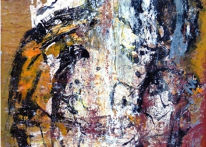 El Venerable | Abraham Gustin | Obra s/tela.