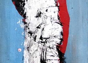 El Viajero | Abraham Gustin | Obra s/tela.