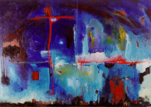 Paisaje del Dolor | Serie de las Ciudades | Obra de Abraham Gustin.