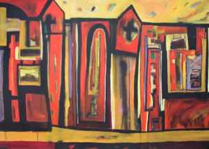 Ciudades Sagradas | Serie de las Ciudades | Obra de Abraham Gustin.