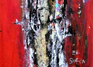 El Bufón | Abraham Gustin | Obra s/tela.