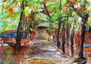 Sobre Los Arboles | Abraham Gustin | Título: El Camino