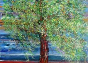 Sin Título | Serie de los Árboles | Obra de Abraham Gustin.