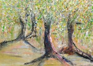 Sobre Los Arboles | Abraham Gustin | Título: Primavera
