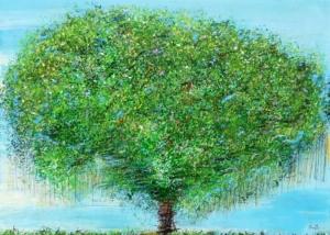 Sobre Los Arboles | Abraham Gustin | Título: Árbol de la Vida