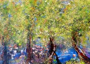 Sobre Los Arboles | Abraham Gustin | Título: Bosque de Duendes