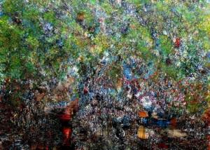 Sobre Los Arboles | Abraham Gustin | Título: Deep Forest