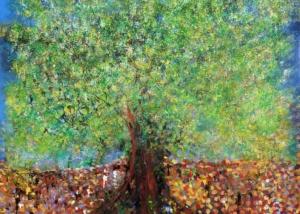 Un Árbol en el Camino | Obra de Abraham Gustin