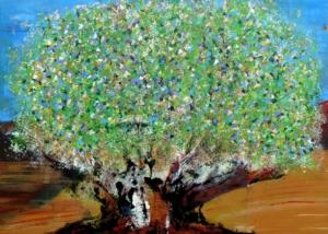 Título: El Árbol de la Vida | Abraham Gustin | Serie de los Árboles.