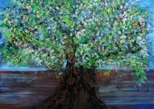 Título: El Árbol del Deseo | Abraham Gustin | Serie de los Árboles.