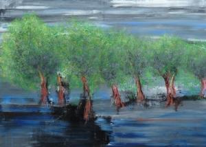 Sobre Los Arboles | Abraham Gustin | Título: Bosque Encantado