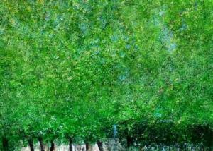 Sobre Los Arboles | Abraham Gustin | Título: Homenaje a Klimt
