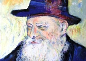 El Rebbe por Abraham Gustin