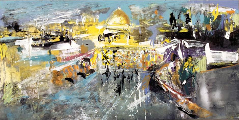 Dibujos para una Hagadá de Pésaj de Abraham Gustin | Jerusalem | ירושלים