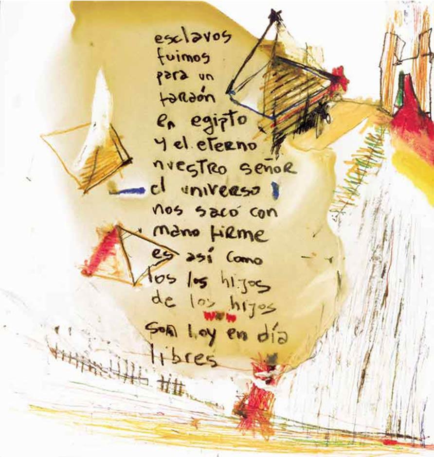 Dibujos para una Hagadá de Pesaj de Abraham Gustin