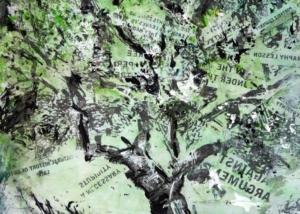 Abraham Gustin | Sobre Los Árboles | Trabajo sobre Papel