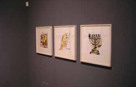 Galería San Francisco | La Noche de la Libertad de Abraham Gustin | Hagadá de Pésaj.
