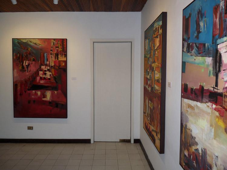 Arte La Vitrina | De las ciudades, los barcos y sus personajes.