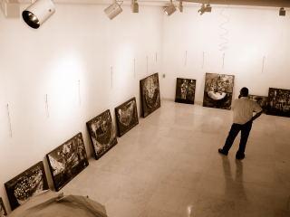 2005 De los Mares y las Ciudades Galería San Francisco | Montaje.