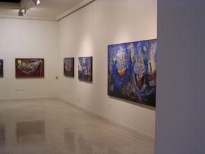 """2005 """"De los Mares y las Ciudades"""" Galería San Francisco."""