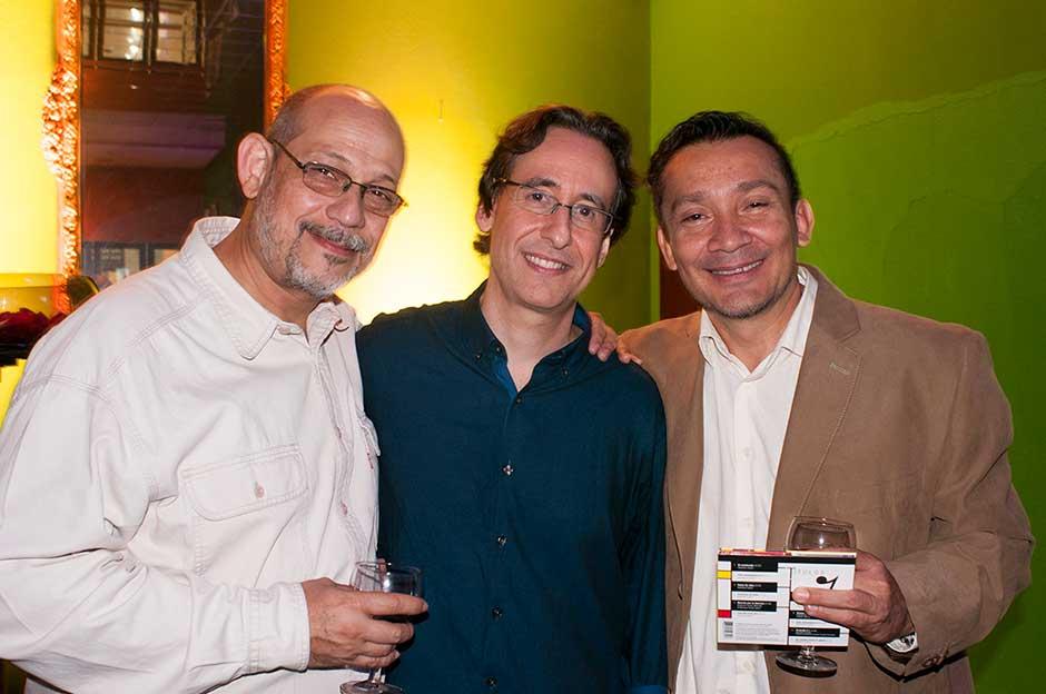 Abraham Gustin | Giovanni Sciortino | Carlos Rogríguez