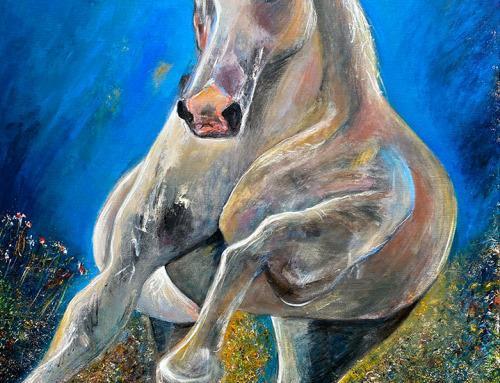 Un Caballo Blanco   P01